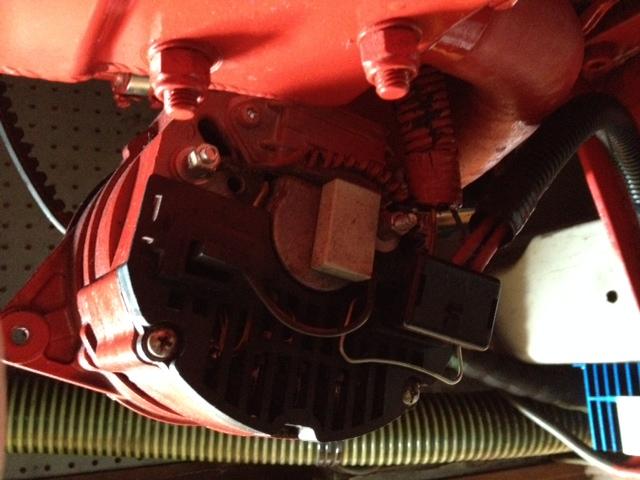Installing Sterling ProReg D on Beta 35 65amp alternator ... on
